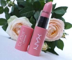 lipstick, pink, and flowers image