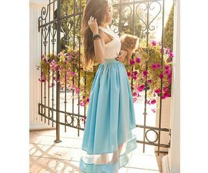 beautiful, dress, and stylish image