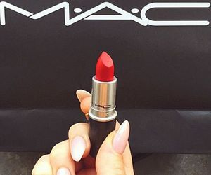 fashion, lipstick, and mac image