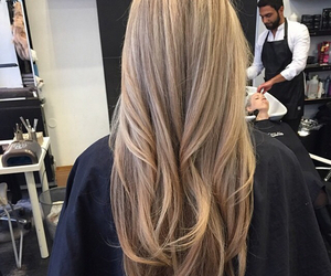 hair, love, and blonde image