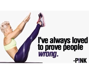 pink and fitness image