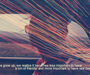 quote, friends, and grow up image