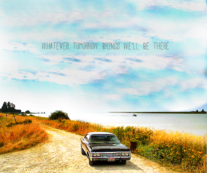 car, dean winchester, and life image