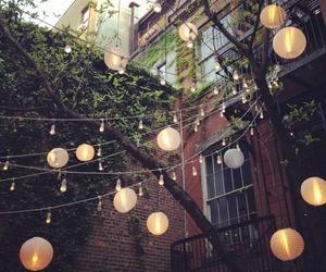 light, lantern, and house image
