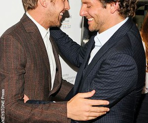 actors, ryan gosling, and bradley cooper image
