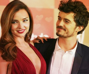 miranda kerr, orlando bloom, and love image