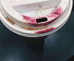 coffee and lipstick image