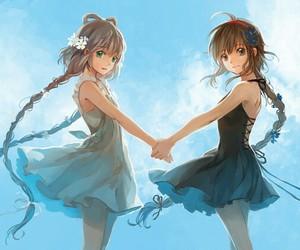 anime and sister image