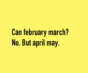 february, funny, and puns image