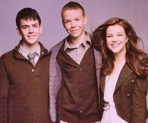 Lucy, narnia, and edmund image