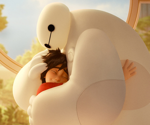 disney, hiro, and hug image