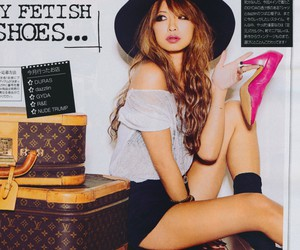 Louis Vuitton, magazine, and shoes image