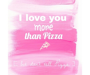 pink, words, and love image