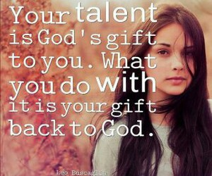 gift, god, and quotes image