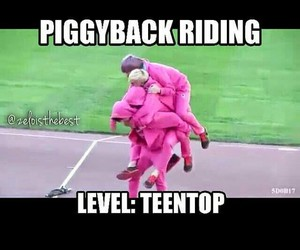 funny, kpop, and teen top image