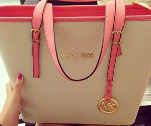 bag, Michael Kors, and pink image