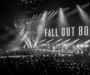black, concerts, and fall out boy image