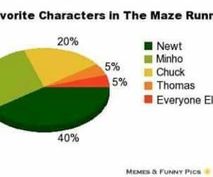 Minho, newt, and thomas image