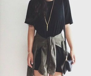girl, look, and outfits image