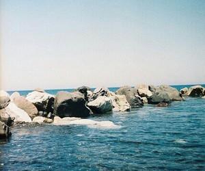 cielo, mare, and sea image