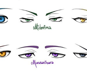Akashi, eyes, and kise image