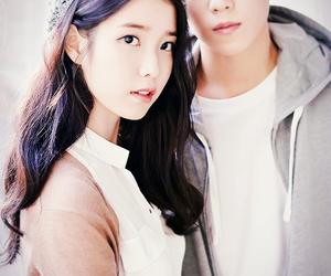 iu, lee hyun woo, and kpop image