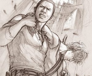 newt, alby, and the maze runner image
