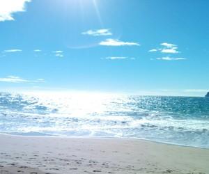 mar, playa, and sol image