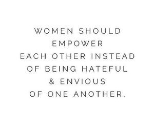 quote, woman, and empower image
