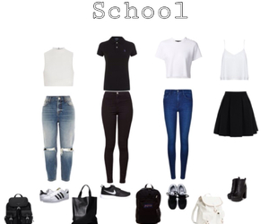 ecole, Polyvore, and school image