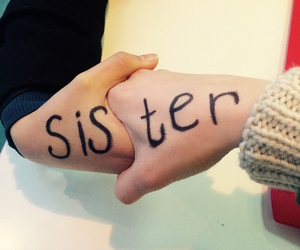 sisters and love image