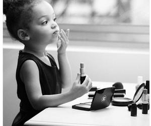 girl, makeup, and chanel image