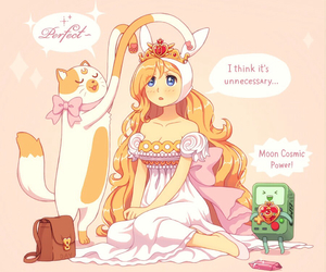 adventure time, cake, and sailor moon image