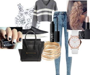 hair, nails, and style image