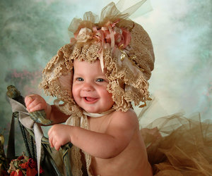 adorable, bonnet, and bebe image