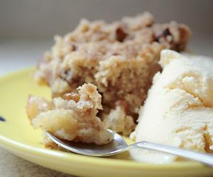 apple, Chicken, and dessert image