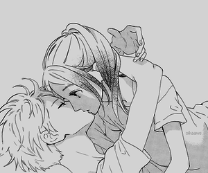 manga, kiss, and hirunaka no ryuusei image
