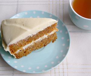 cake, food, and carrot cake image