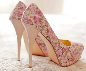 flores, shoes, and flwores image