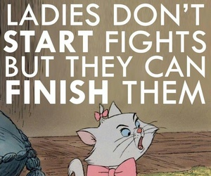 lady, disney, and fight image