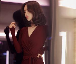 asian girl, beautiful, and yoon seon young image