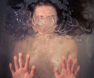 eau, goodbye, and water image