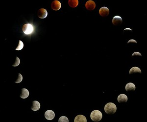 dreams, lunar, and moon image
