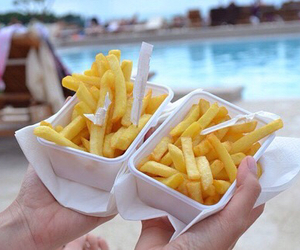 food, fries, and quality image