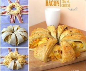 cheese, diy, and bacon image
