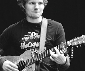 ed sheeran, guitar, and ed image