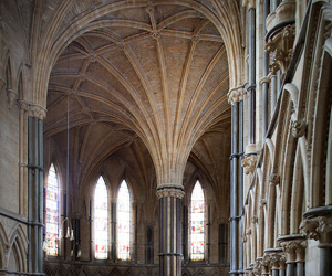 architecture, cathedral, and england image