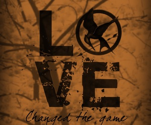 love, the hunger games, and hunger games image