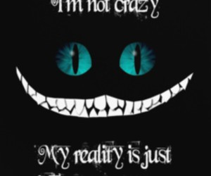 alice, cat, and crazy image