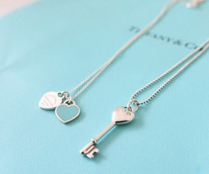 necklace, jewelry, and key image